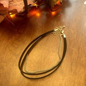 Forever 21 Black & Gold Choker